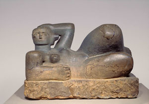 Henry Moore - Reclining figure-1929
