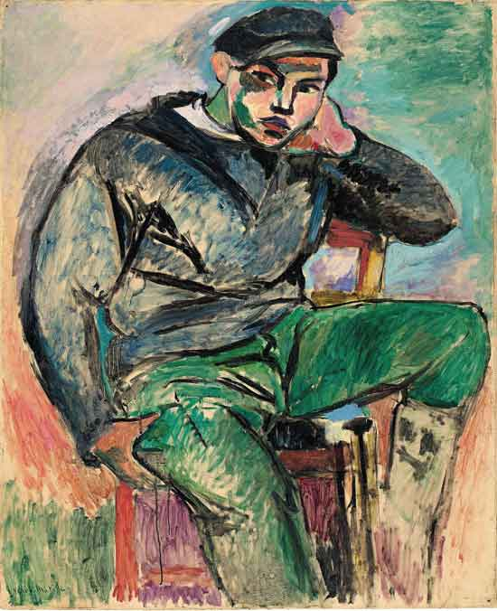 Young Sailor I by Henri Matisse