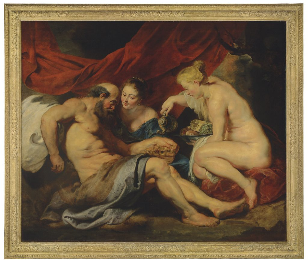 Sir Peter Paul Rubens_Lot and his Daughers