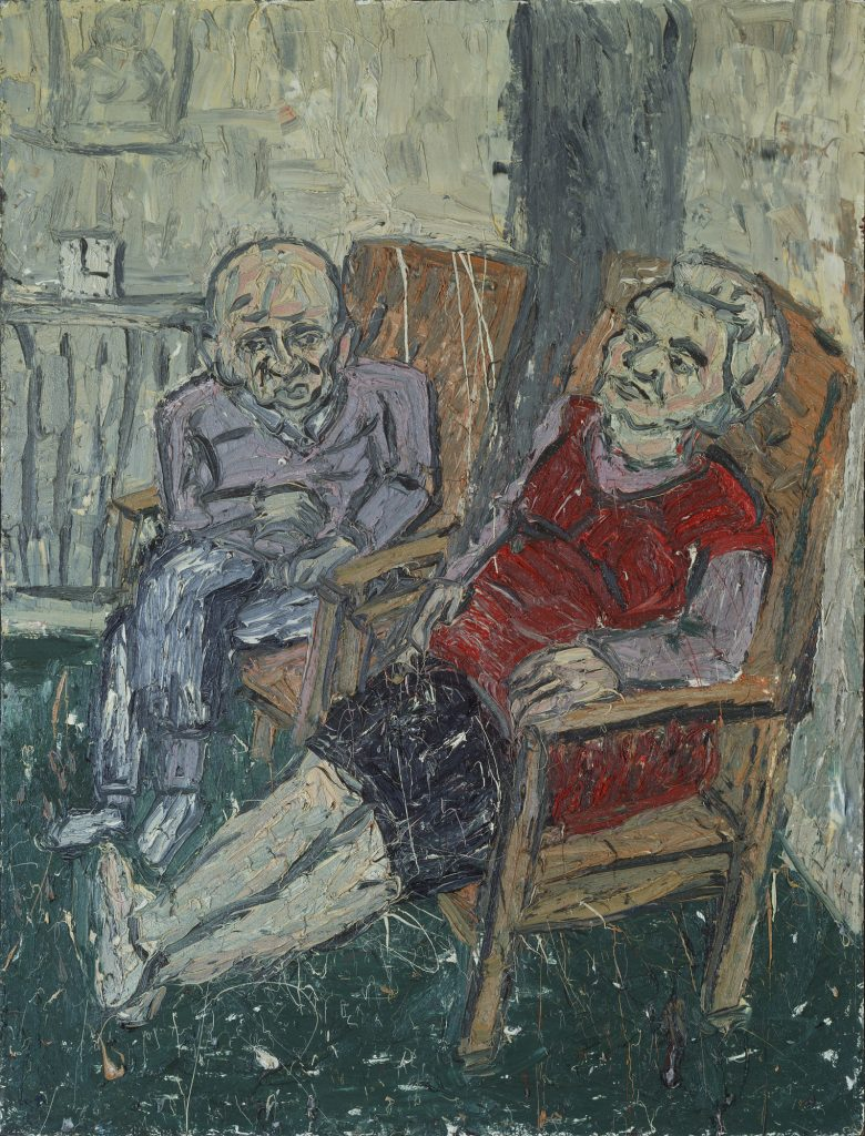 1980 painting Oil on Board 2438x1828mm